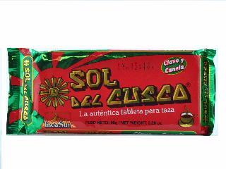 CHOCOLATE DE TAZA BARRA X 90 GR.