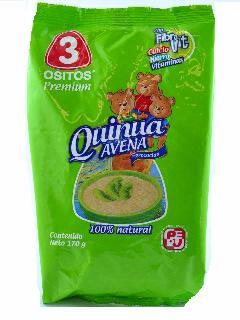 QUINOA AND OATS 170 GR.